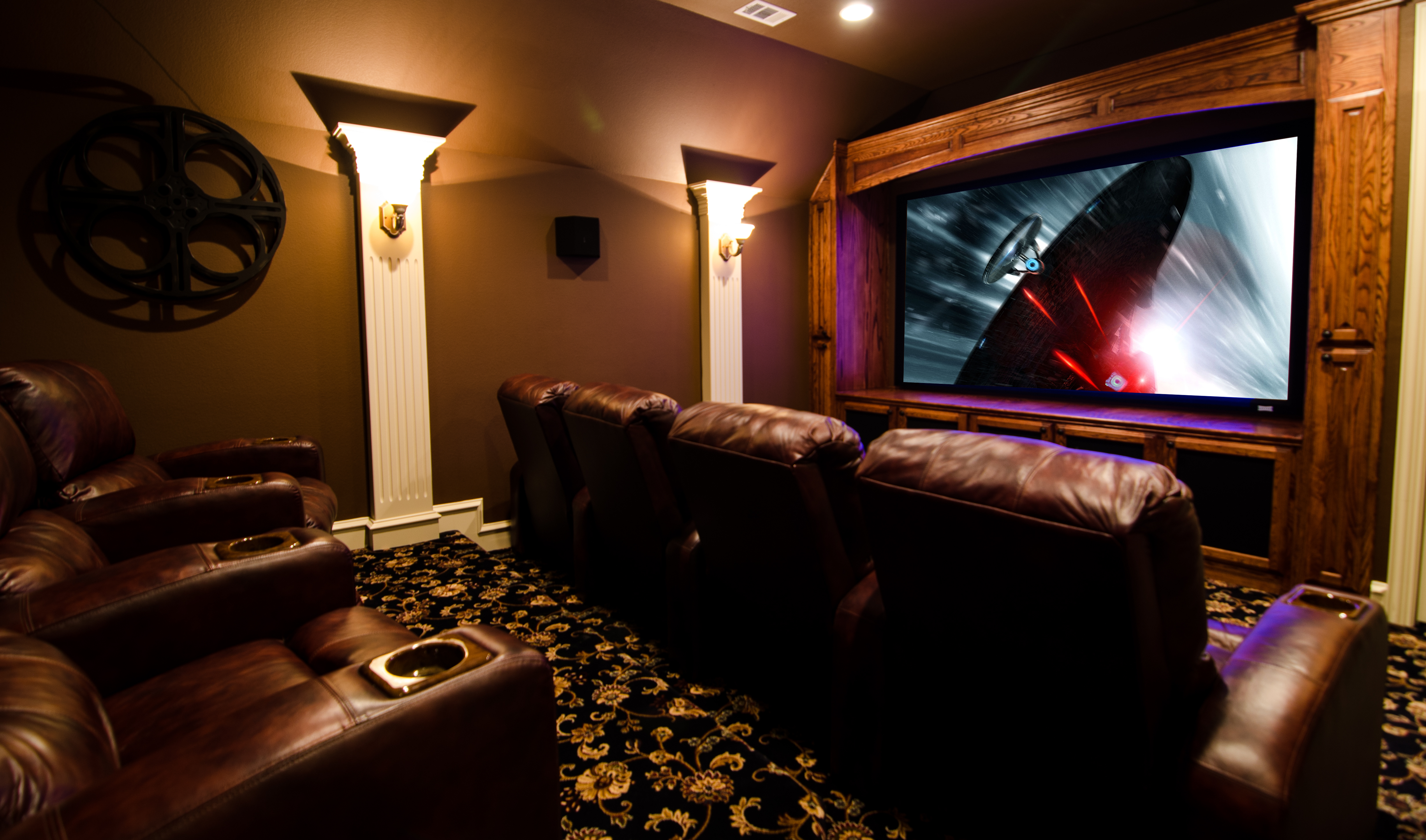 Home theater design tx 28 images cave home theater dallas by wood mill best home theater - Home theater design dallas inspired ...